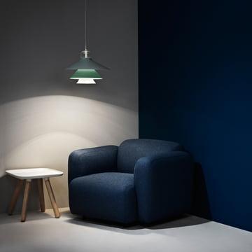 Normann Copenhagen - Swell armchair, dark blue