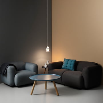 Normann Copenhagen - Swell sofa and armchair