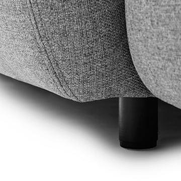 Normann Copenhagen - Swell 3-seats, grey - details, leg
