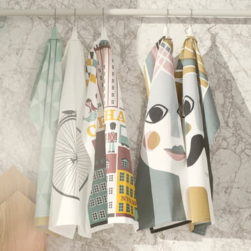 Ferm Living - Mountain Tea Towel