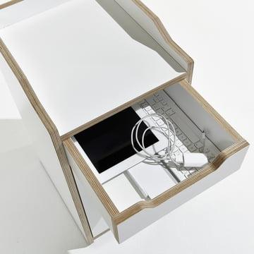 Müller Möbelwerkstätten - Plane Container - open drawer