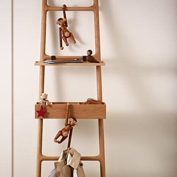 Kay Bojesen Denmark - Wooden Creatures - Ape, bear, bird