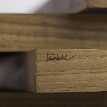ArchitectMade - Tablett Turning Tray - Details, signature