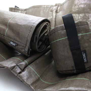 Bacsac - Jardinière Accroché hanging bag, material