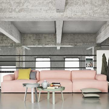 Muuto - Connect Sofa, pink - A- / B- / C-Module