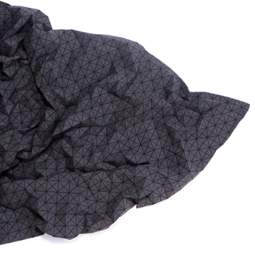 Mika Barr - Folding A-Part Throw, black