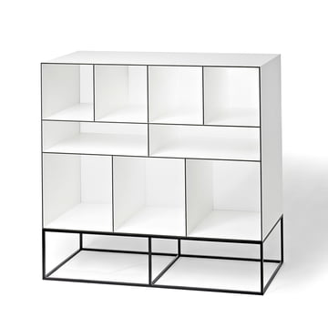 Wogg 52 storage system (Typ 52-201) - with base, black