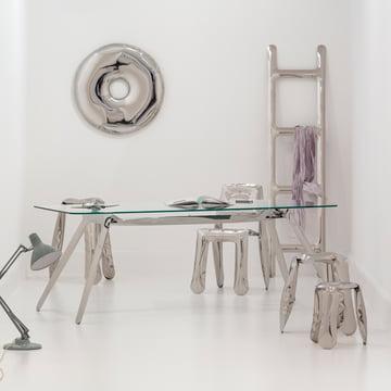 Zieta - Drab coat rack, silver
