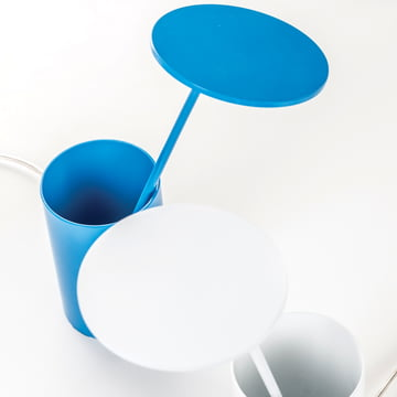 Formagenda - E.T. Table Lamp - white, blue - top