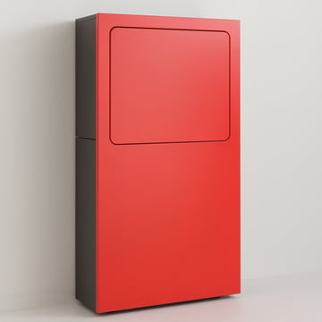 smaider bureau by Urban Favourites in red
