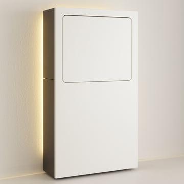 LED Lighting for Bureau in White