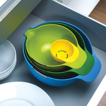 Joseph Joseph - Nest Mix in drawer, top view