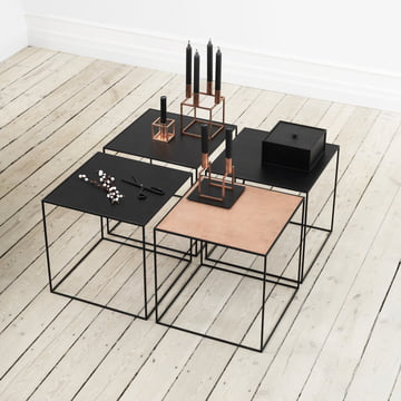 Combinable side table from by Lassen