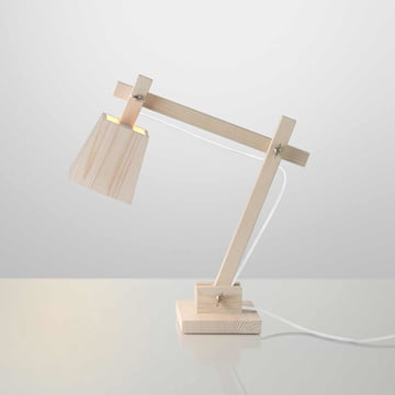 Muuto - Wood Lamp, white cable