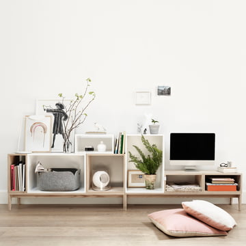 Muuto - Stacked shelving system - sideboard