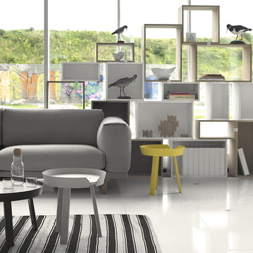 Muuto - Stacked shelving system - living room