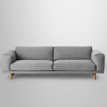 Muuto - Rest Sofa 3-seats, grey