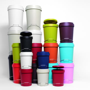 Authentics - Tip pedal bin, colours, group