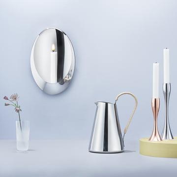 Stelton - Aura Wall Candleholder, Reflection Candleholder