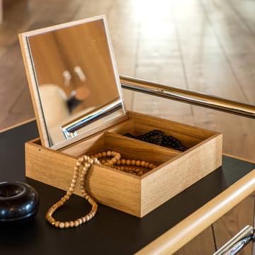 Schönbuch - Hesperide Beautybox, oak / leather loop brown