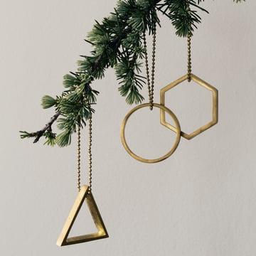 ferm Living - Brass Ornaments