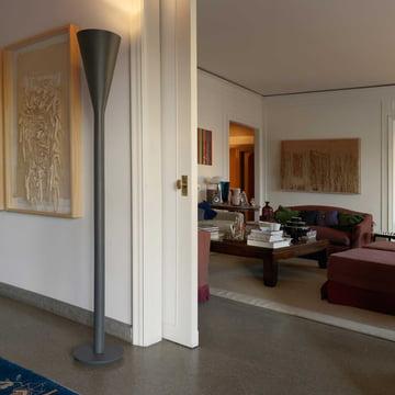 FontanaArte - Riluminator Floor Lamp, dark-grey