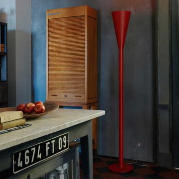 FontanaArte - Riluminator Floor Lamp, red