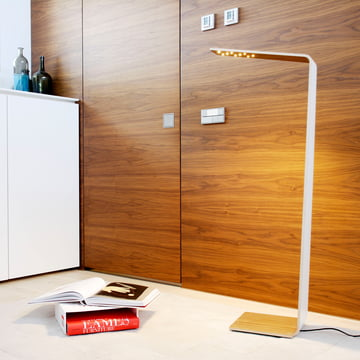 Floor lamp Led 2 by Tunto as the eye-catcher in the room