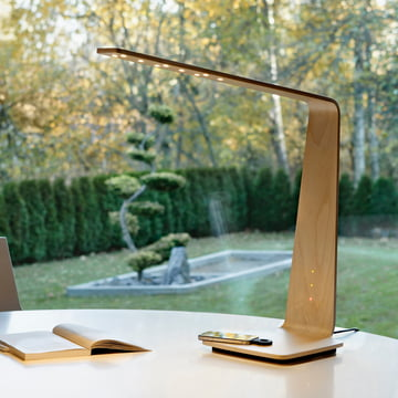 Led 8 table lamp by Tunto for the office