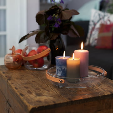 Holmegaard - Design with light Candle Plate