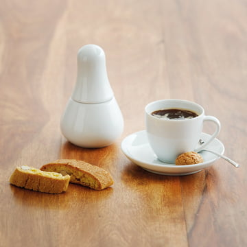 Kahla - Magic Grip Espresso, white, placed on the floor