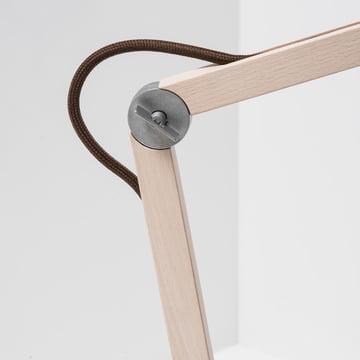 Wästberg - Studioilse Table Lamp w084, brown cord, joint