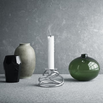 Georg Jensen - Glow Candleholder with Vases