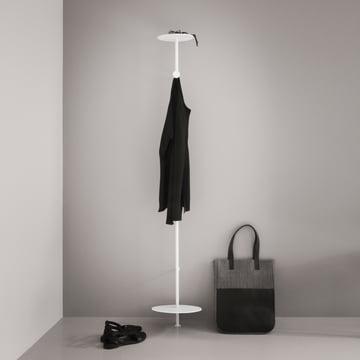 Menu - Coat hanger, white