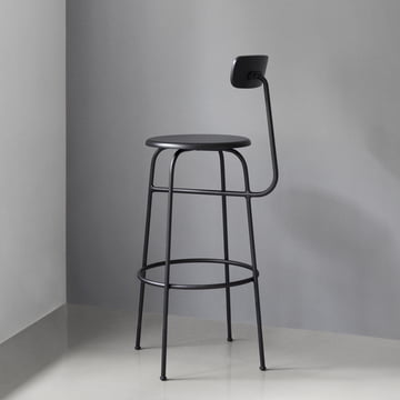 Menu - Afteroom Barstool, black