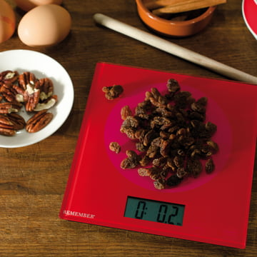 Remember - Kitchen Scales, Pink & Red