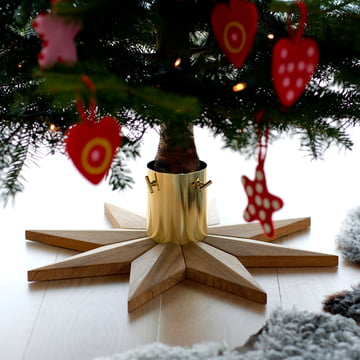 Skagerak - Christmas Tree Base, teak