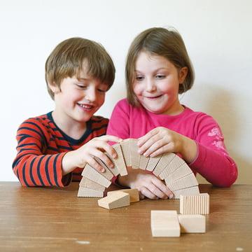 Lessing - Follies stacking game, playing children