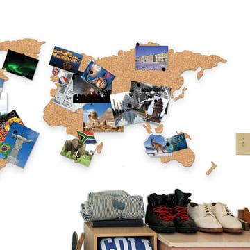 Luckies - Corkboard Map, board