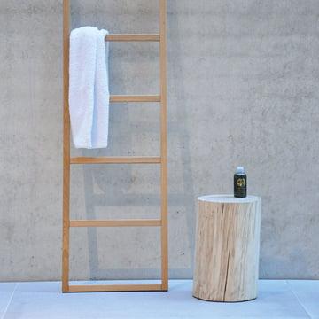 Jan Kurtz - Block Stool, with ladder