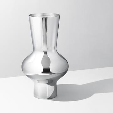 Georg Jensen - Alfredo Vase 470, stainless steel