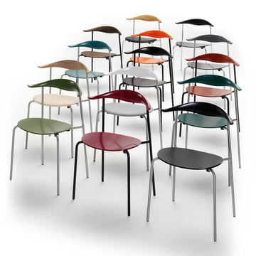 CH88 colour variants by Carl Hansen