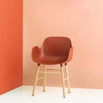 Normann Copenhagen - Form Armchair, orange