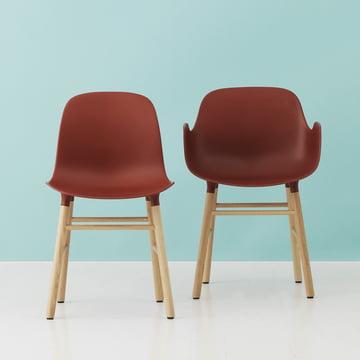 Normann Copenhagen - Form Chair, red