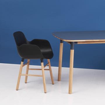 Normann Copenhagen - Form Armchair, black