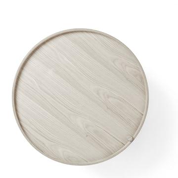 Menu - Turning Table, white oak, closed