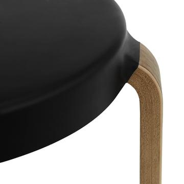 Normann Copenhagen - Tap Stool, walnut / black