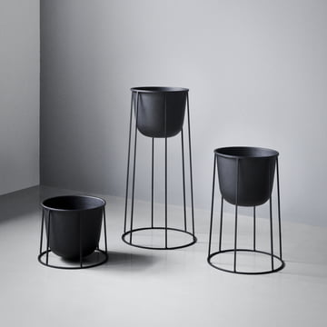 Menu - Wire Pot, black