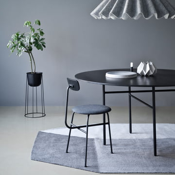 Menu - Snaregade Table, Round, Black Veneer