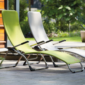 Terrace Loungers by Fiam